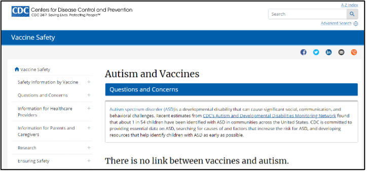 "cdc-autism-old-01 CDC Quietly Removes Website Headline Claiming ""Vaccines Do Not Cause Autism"" Top Stories U.S. [your]NEWS"